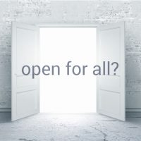 Open For All?