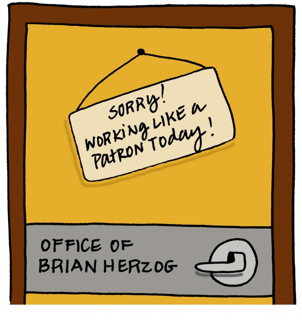 Brian's Office Door