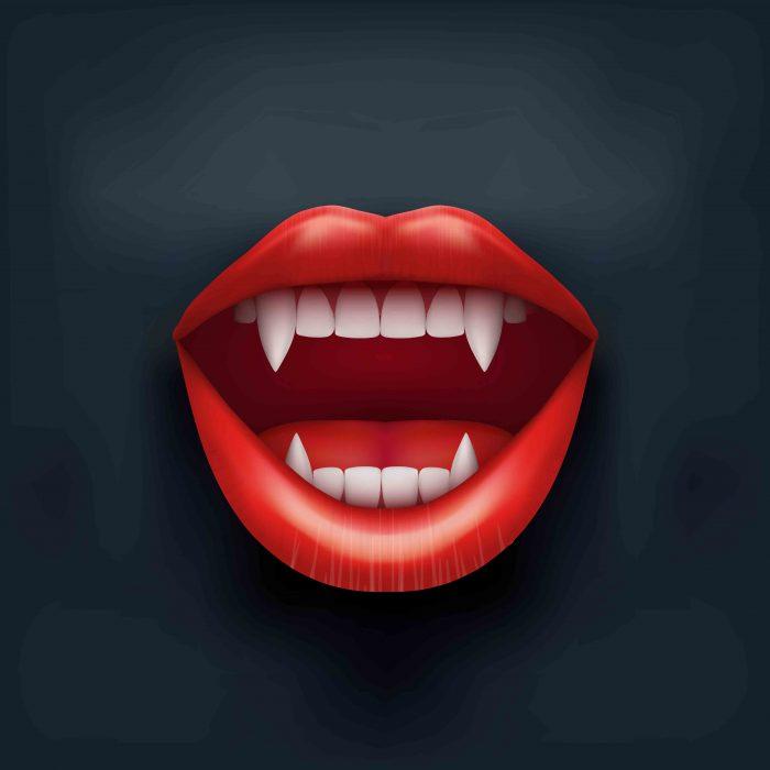 Vampire Lips Web