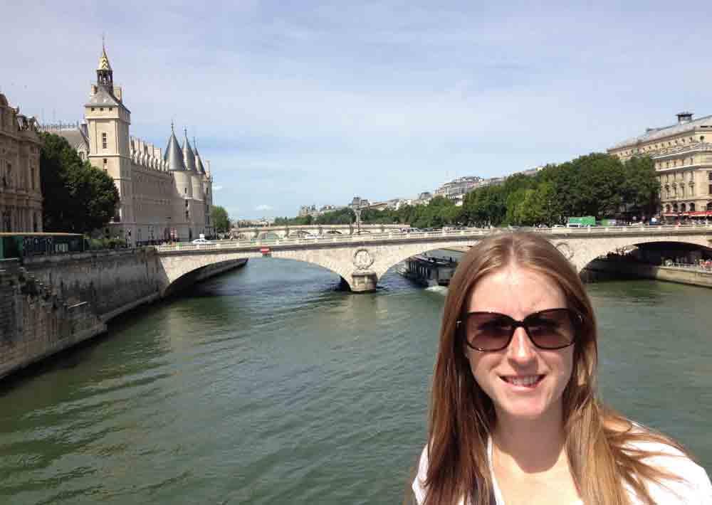 Shanna Pearson in Paris