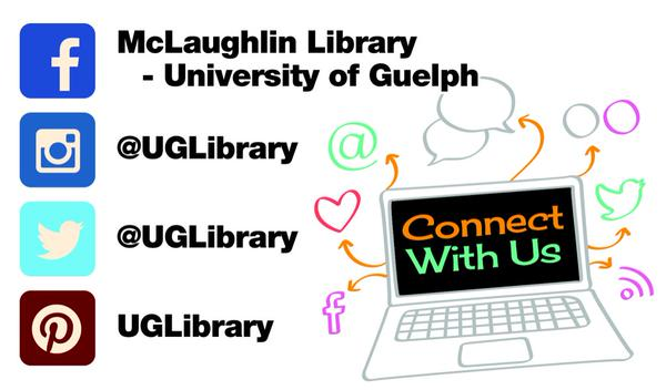 Social Media Accounts At The University Of Guelph Library