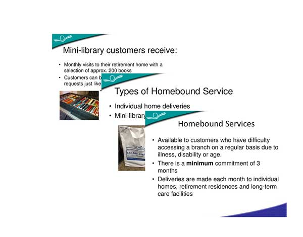 Homebound Services Web