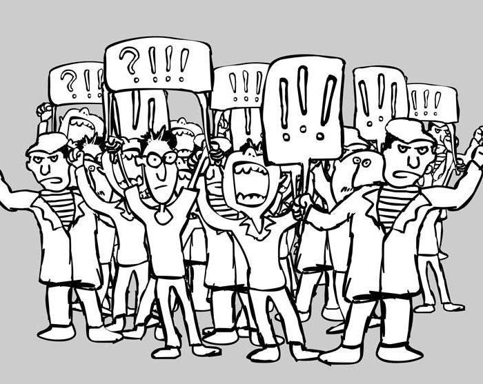 Protesters Web