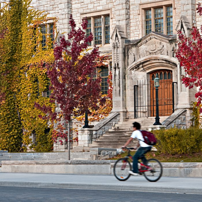 Douglas Library In The Fall (Photo Credit: Queen's University)