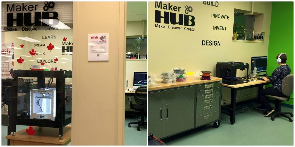 Makerhub collage