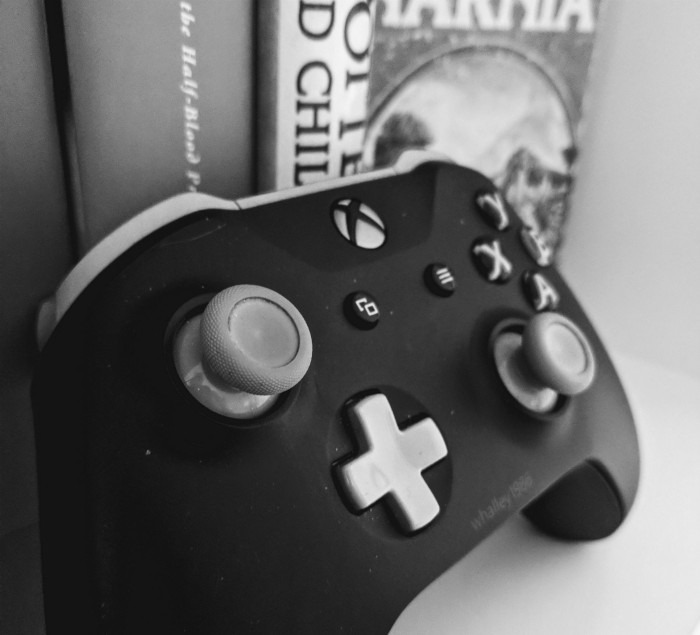 This custom–made Xbox One controller (complete with gamertag) is a great example of how putting a creative spin on video game accessories can personalize the experience of gaming.