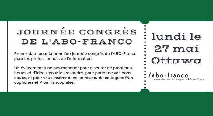 Journée Congrès: L'ABO-Franco