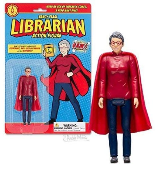 Image of the Nancy Pearl action figure