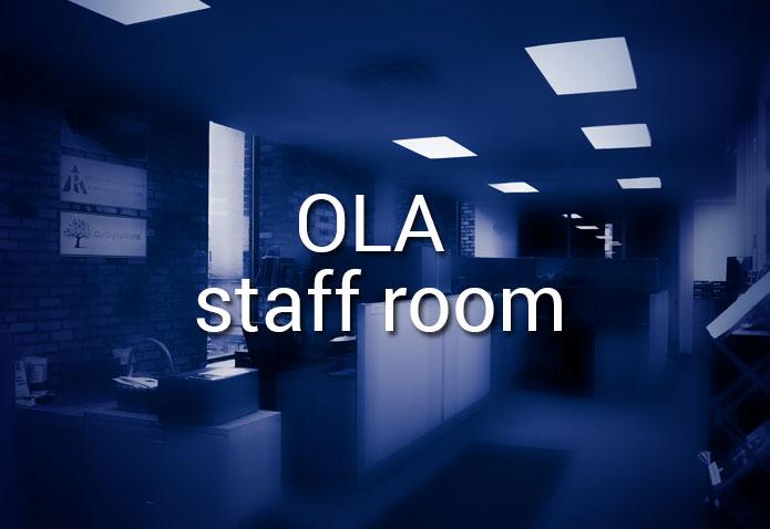 OLA Staff Room