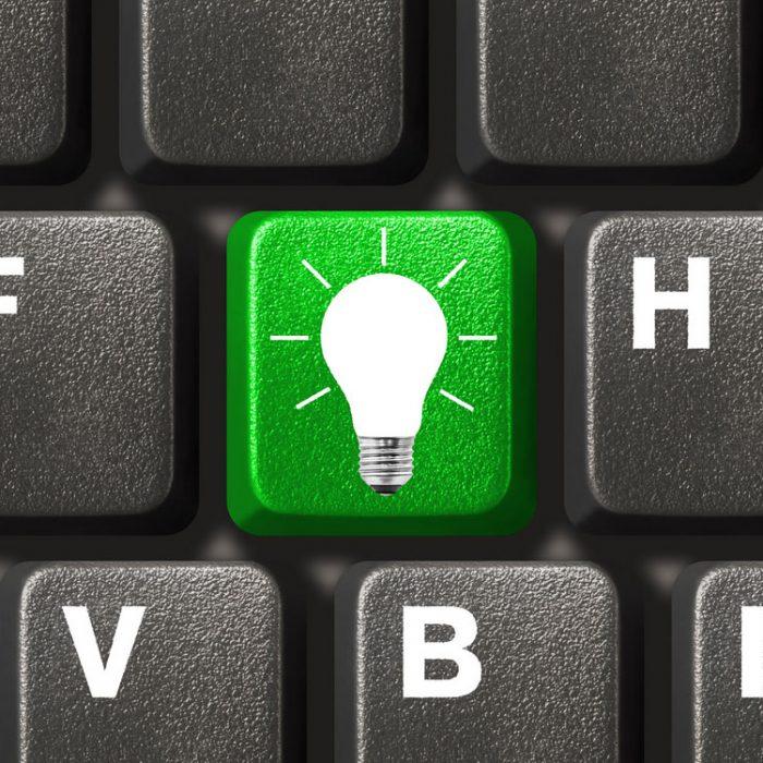 Keyboard And Blub Small
