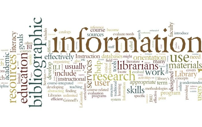 Library Instruction Wordle 2