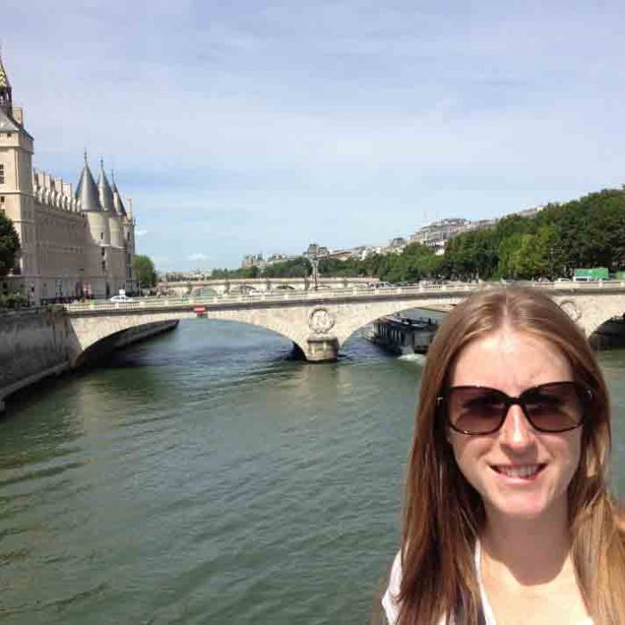 President's Column—Shanna In Paris Web