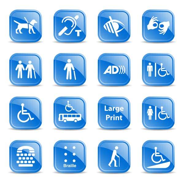 AODA Icons Web