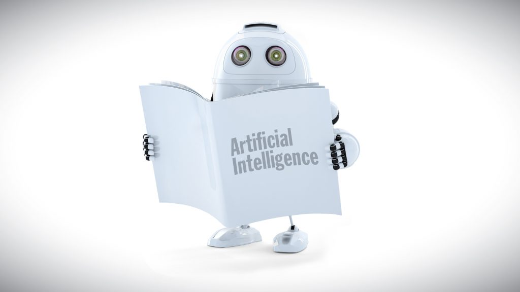 artificial intelligence robot reading