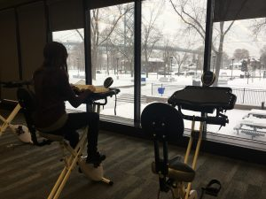 leddy library study bike
