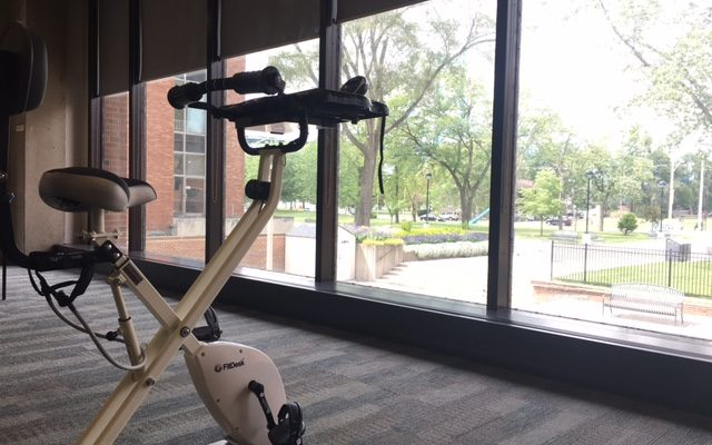 Exercise Bikes At The Library: We Can Work It Out