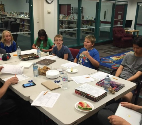 Youth playing Dungeons and dragons