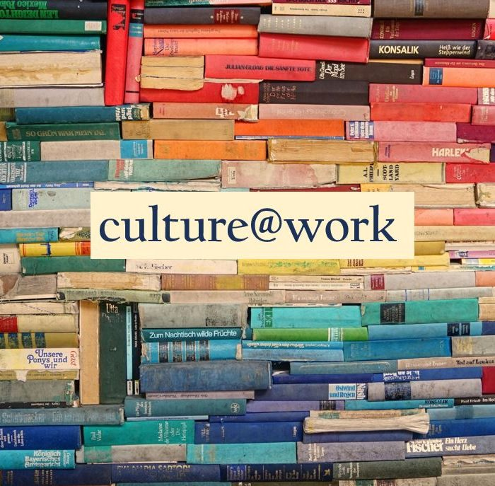 Coloured Books With Culture@work Written Across Them
