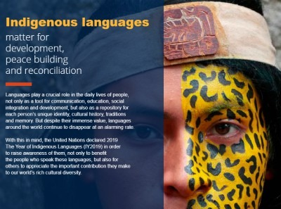 UNESCO Year Of Indigenous Languages
