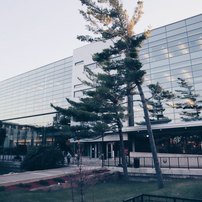 Carleton MacOdrum Library.