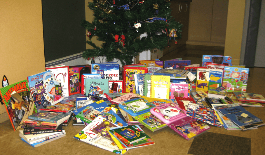 "CHAMPLAIN PUBLIC LIBRARY. Since 2010, An Amazing Campaign, ""A Book On Every Bed,"" Has Supplied Books To Families Who Receive Christmas Baskets From The Local Food Bank. This Project Relies On The Generosity Of The Community As The Library Pairs Up Donors With Children, Ensuring That Each Child Wakes Up Christmas Morning With A Book On His/her Bed."