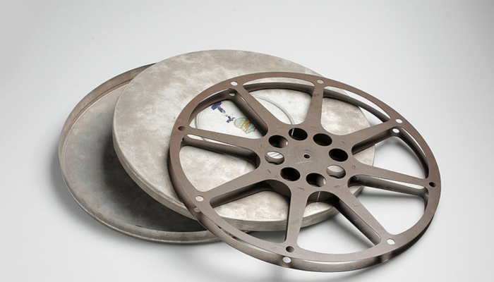 An Old Film Reel.