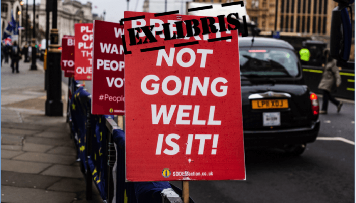 Photo Of An Anti-Brexit Poster.