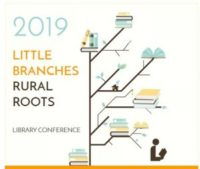 Graphic of tree with branches and books