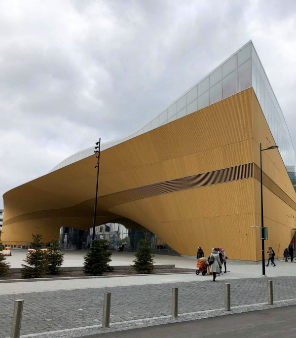 Library Oodi (Finland)