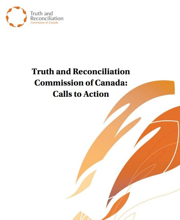 Cover of the TRC calls to action