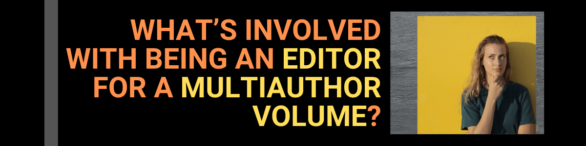 Slider for Editor of multiauthor volume article