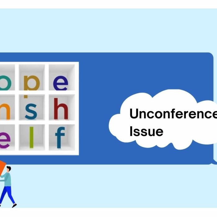 Open Shelf: Unconference Issue