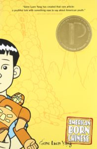 The cover of the book American Born Chinese