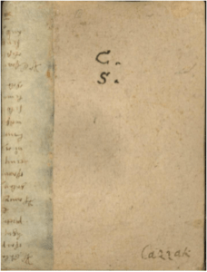 A page from Messe brevi a otto voci