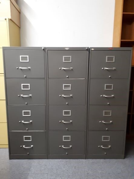 U of T Library Performance Collection Filing cabinets
