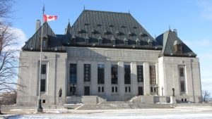 A photo of the Supreme Court of Canada building.